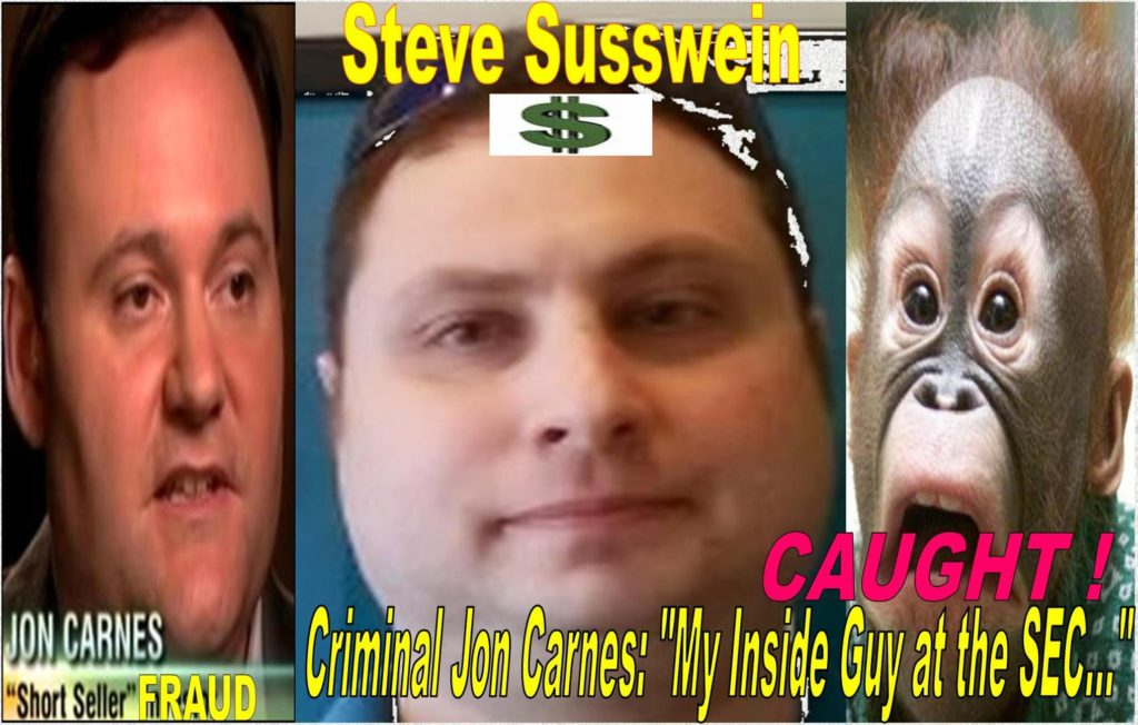 SEC Staff STEVEN SUSSWEIN, CHERYL CRUMPTON Fabricated Law on Stock Gifting