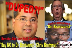 Professor Chris Brummer, Unqualified CFTC Nominee Duped Senator Mitch McConnell, Neil Chatterjee