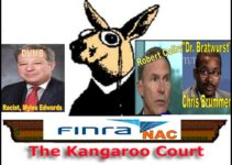 Robert Colby, the FINRA General Counsel Rigs FINRA NAC Kangaroo Court