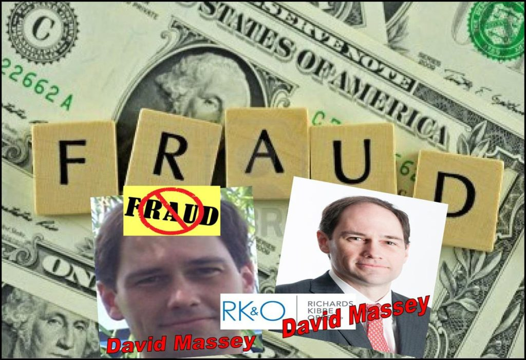 David Massey, Tiny Richards Kibbe Orbe Law Firm Permeated with Fraud
