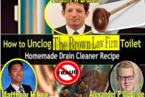 Timothy W Brown, The Brown Law Firm, The Obscure Oyster Bay Lawyers Are Total Frauds