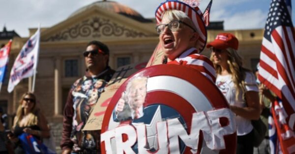 Survey Says: 21 Million Americans Support Violence to Restore Trump